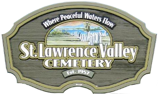 St. Lawrence Valley Cemetary Logo